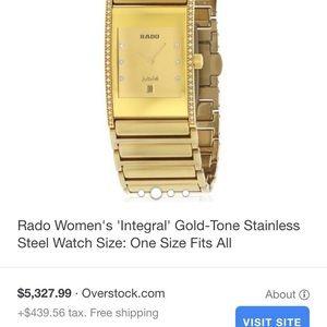 Rado Diamond Jubilee Gold men's watch Michelle